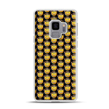 Load image into Gallery viewer, trippy cowboy emoji Samsung Galaxy S9 Case, White Plastic Case | Webluence.com