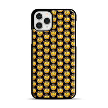 Load image into Gallery viewer, trippy cowboy emoji iPhone 11 Pro Case, Black Plastic Case | Webluence.com