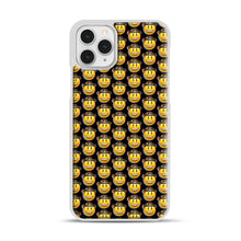 Load image into Gallery viewer, trippy cowboy emoji iPhone 11 Pro Case, White Plastic Case | Webluence.com