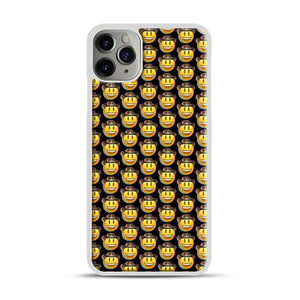 trippy cowboy emoji iPhone 11 Pro Max Case.jpg, White Plastic Case | Webluence.com