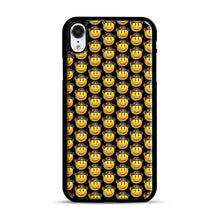 Load image into Gallery viewer, trippy cowboy emoji iPhone XR Case, Black Plastic Case | Webluence.com