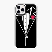 Load image into Gallery viewer, tux tee iPhone 11 Pro Case, White Plastic Case | Webluence.com