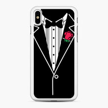 Load image into Gallery viewer, tux tee iPhone XS Max Case, White Rubber Case | Webluence.com