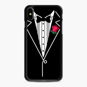 tux tee iPhone XS Max Case, Black Rubber Case | Webluence.com