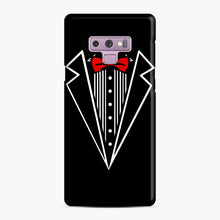 Load image into Gallery viewer, tuxedo Red Bow Samsung Galaxy Note 9 Case, Snap Case | Webluence.com