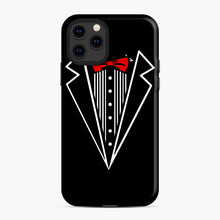 Load image into Gallery viewer, tuxedo Red Bow iPhone 11 Pro Case, Snap Case | Webluence.com