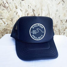 Load image into Gallery viewer, Dolphin project 1970 trucker hat front