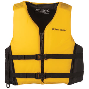 yellow life jacket for dolphin sanctuary