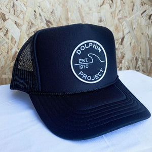 Dolphin project 1970 trucker hat black