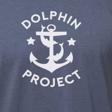 Load image into Gallery viewer, dolphin project anchor shirt detail