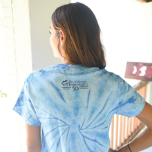 Load image into Gallery viewer, dolphin project tie dye tee