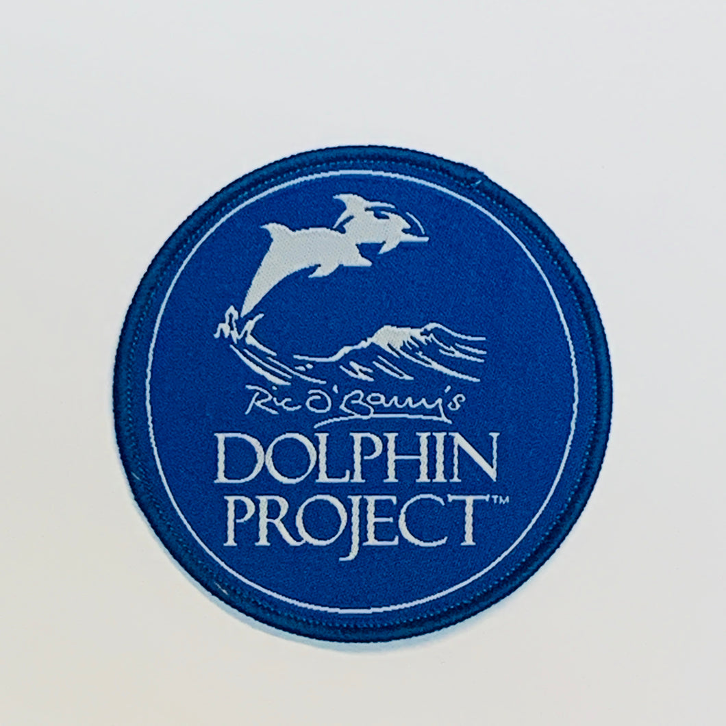 Dolphin Project Logo Round Patch