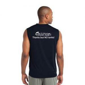 dolphin athletic shirt back black and white