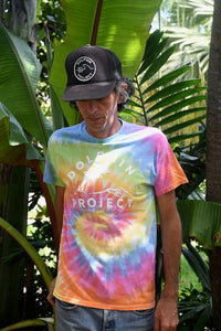 Unisex Dolphin Project Classic Logo Tie Dye Tee