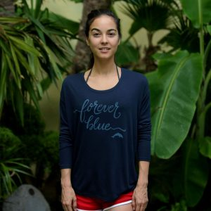forever blue cove ladies navy blue shirt