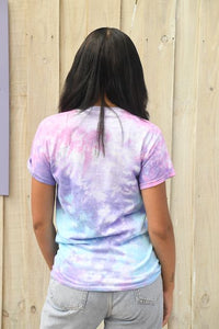 Unisex Dolphin Project Cotton Candy Tie Dye Tee