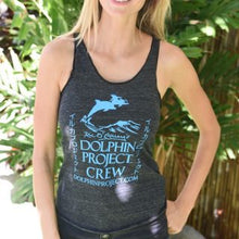 Load image into Gallery viewer, dolphin project crew sleeveless shirt