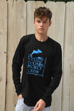Load image into Gallery viewer, Men's Dolphin Project Crew Long Sleeve