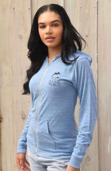 Unisex Eco Royal Swim Free T-Shirt Hoodie
