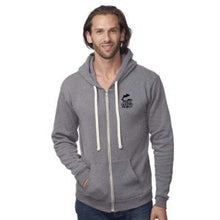 Load image into Gallery viewer, dolphin defender hoodie zip up