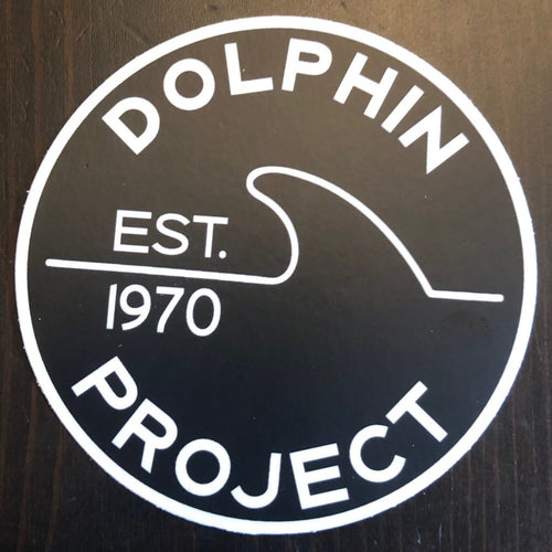 Dolphin project 1970 fin decal