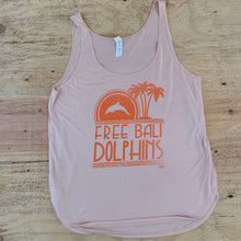Load image into Gallery viewer, Women's Free Bali Dolphins Tank Top