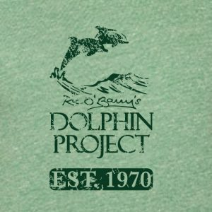 dolphin project distressed logo graphic