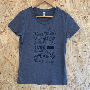 Women's Birthright Ash Grey Tee