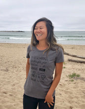Load image into Gallery viewer, Women's Birthright Ash Grey Tee