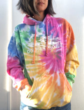 Load image into Gallery viewer, Unisex Dolphin Project Original Logo Tie Dye Pullover Hoodie