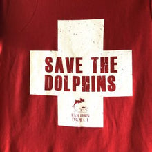 Load image into Gallery viewer, save the dolphins graphic tee
