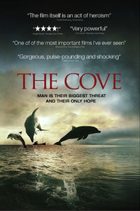 The Cove movie poster hosting donation