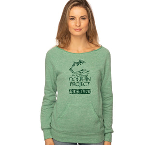 dolphin project 1970 green fleece