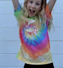 Load image into Gallery viewer, Dolphin Project Original Logo Tie Dye Youth Tee