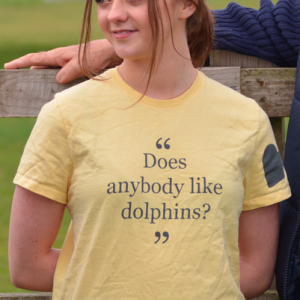 "Limited Edition Harry Styles ""Does Anybody Like Dolphins"" Women's Tee"