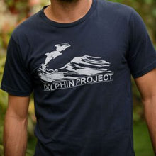 Load image into Gallery viewer, dolphin project vintage graphic tee shirt