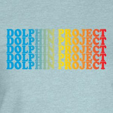 Load image into Gallery viewer, dolphin project rainbow graphic t-shirt