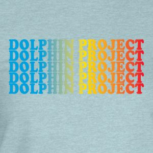 dolphin project rainbow graphic t-shirt