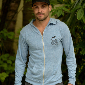 dolphin project swim free hoodie front mens
