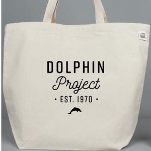 Dolphin Project EST 1970 Tote Bag