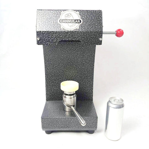 Cannular Compact Canning Machine - Bench-top Can Seamer
