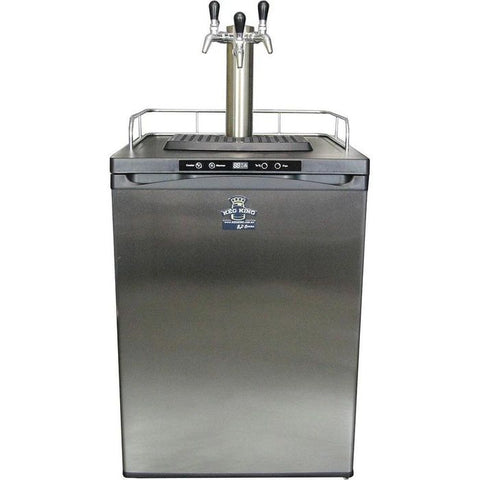 Kegmaster Series 4 - 3-Tap with Stainless Steel Faucets