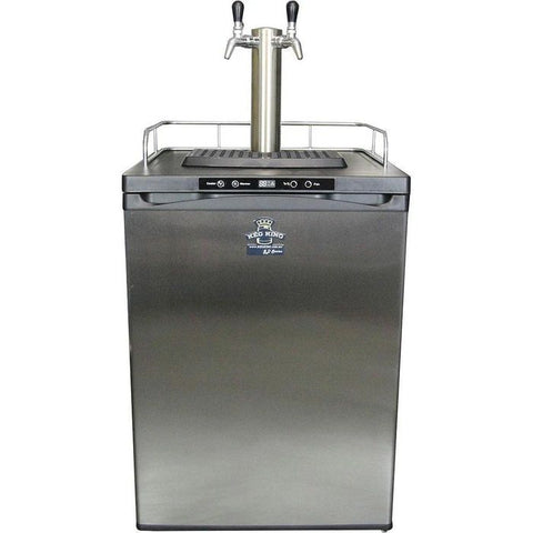 Kegmaster Series 4 - 2-Tap with Chrome Faucets