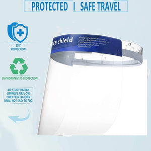 Full Face Protective Shield (20-pack)
