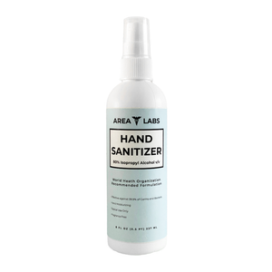 Area Labs Hand Sanitizer Liquid in 8 oz Spray Bottle