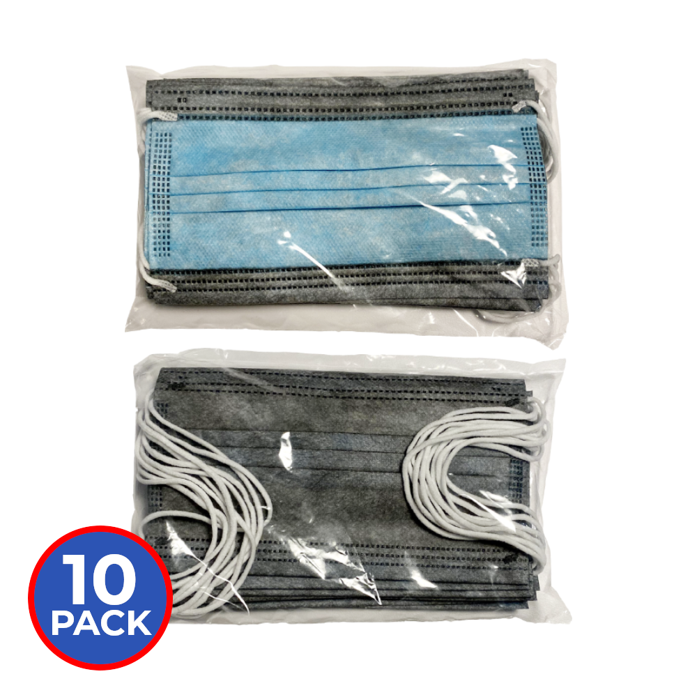 Biomass Graphene Disposable Masks (10-pack)