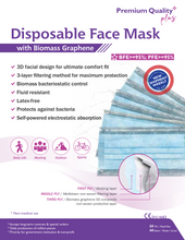 Load image into Gallery viewer, Biomass Graphene Disposable Masks (10-pack)