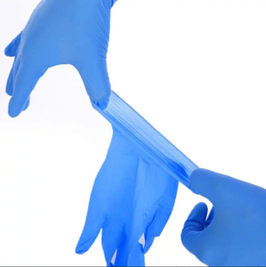 Powder Free Nitrile Exam Gloves (100 pcs)