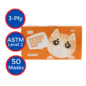 Children Disposable 3-ply Masks (50-pack)