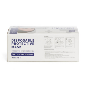 Disposable 3-ply Masks (200-pack)